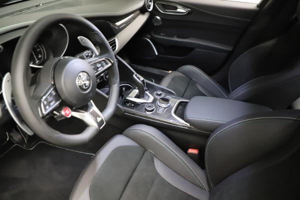 New 2021 Alfa Romeo Giulia Quadrifoglio for sale $83,200 at Maserati of Westport in Westport CT 06880 12