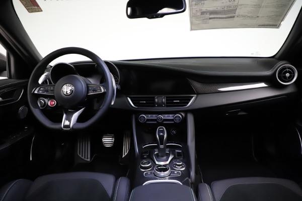 New 2021 Alfa Romeo Giulia Quadrifoglio for sale $83,200 at Maserati of Westport in Westport CT 06880 15
