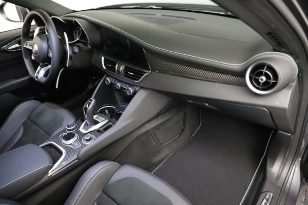 New 2021 Alfa Romeo Giulia Quadrifoglio for sale $83,200 at Maserati of Westport in Westport CT 06880 20