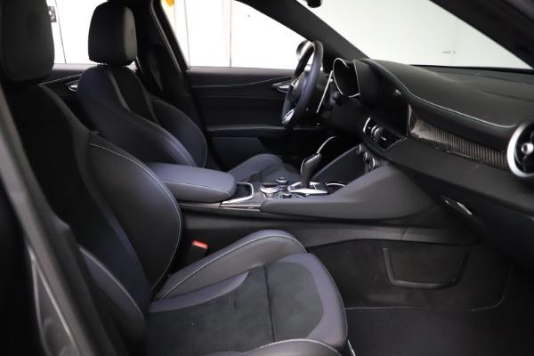 New 2021 Alfa Romeo Giulia Quadrifoglio for sale $83,200 at Maserati of Westport in Westport CT 06880 21