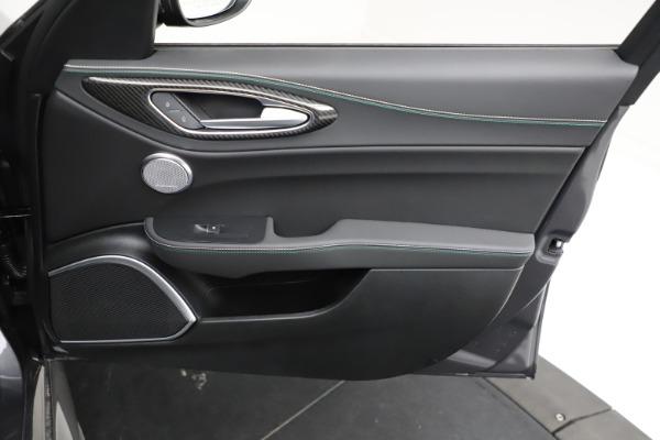 New 2021 Alfa Romeo Giulia Quadrifoglio for sale $83,200 at Maserati of Westport in Westport CT 06880 22