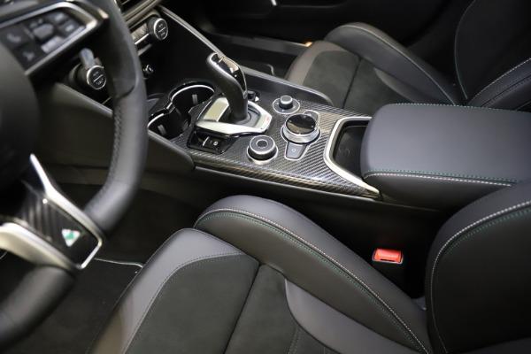 New 2021 Alfa Romeo Giulia Quadrifoglio for sale $83,200 at Maserati of Westport in Westport CT 06880 26