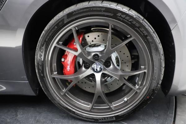 New 2021 Alfa Romeo Giulia Quadrifoglio for sale $83,200 at Maserati of Westport in Westport CT 06880 27