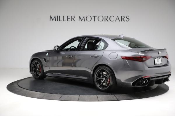New 2021 Alfa Romeo Giulia Quadrifoglio for sale $83,200 at Maserati of Westport in Westport CT 06880 4