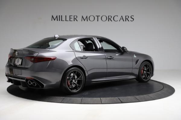 New 2021 Alfa Romeo Giulia Quadrifoglio for sale $83,200 at Maserati of Westport in Westport CT 06880 7