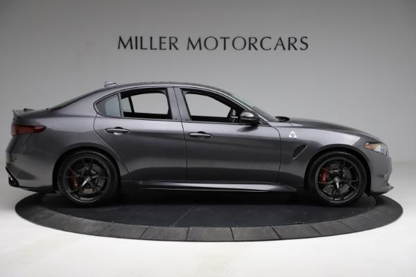 New 2021 Alfa Romeo Giulia Quadrifoglio for sale $83,200 at Maserati of Westport in Westport CT 06880 8