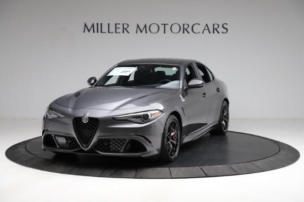 New 2021 Alfa Romeo Giulia Quadrifoglio for sale $83,200 at Maserati of Westport in Westport CT 06880 1