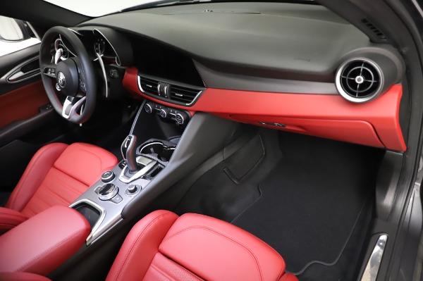 New 2021 Alfa Romeo Giulia Ti Sport for sale $54,050 at Maserati of Westport in Westport CT 06880 21