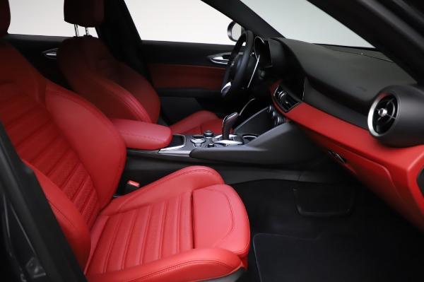 New 2021 Alfa Romeo Giulia Ti Sport for sale $54,050 at Maserati of Westport in Westport CT 06880 22