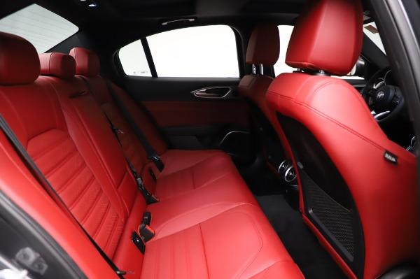 New 2021 Alfa Romeo Giulia Ti Sport for sale $54,050 at Maserati of Westport in Westport CT 06880 24