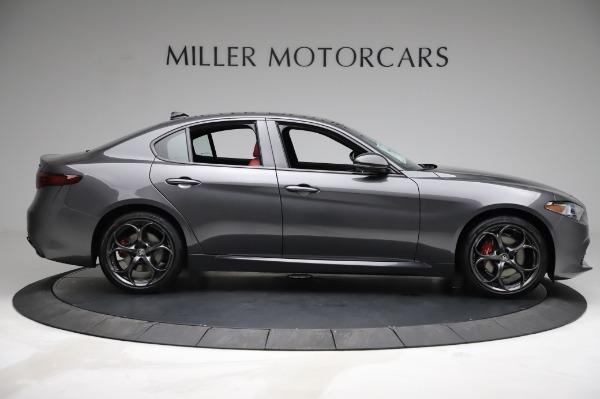 New 2021 Alfa Romeo Giulia Ti Sport for sale $54,050 at Maserati of Westport in Westport CT 06880 8