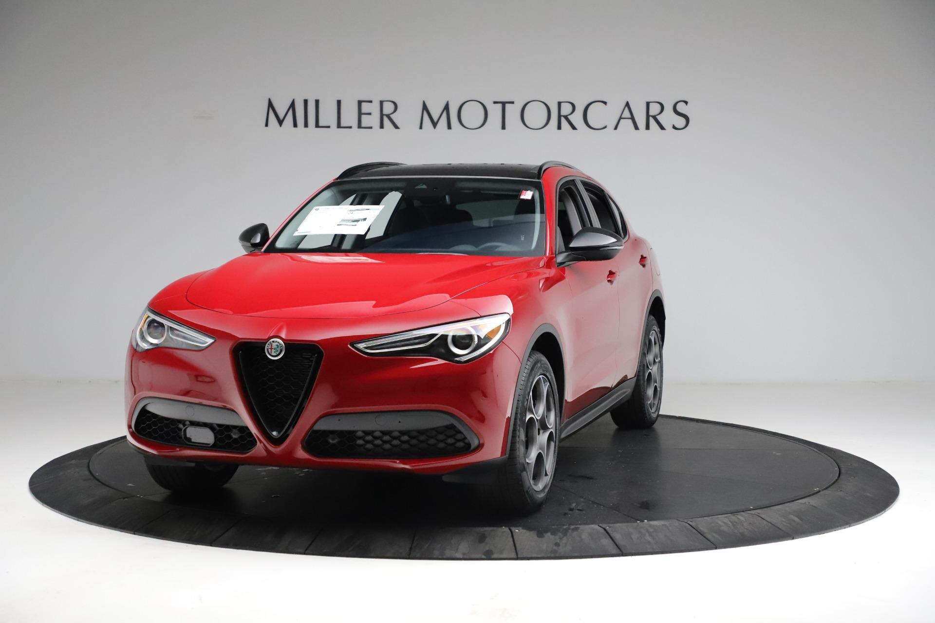 New 2021 Alfa Romeo Stelvio Sprint for sale $50,535 at Maserati of Westport in Westport CT 06880 1