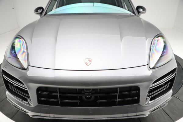 Used 2020 Porsche Cayenne Turbo for sale Sold at Maserati of Westport in Westport CT 06880 14