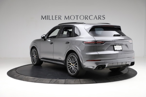 Used 2020 Porsche Cayenne Turbo for sale Sold at Maserati of Westport in Westport CT 06880 5