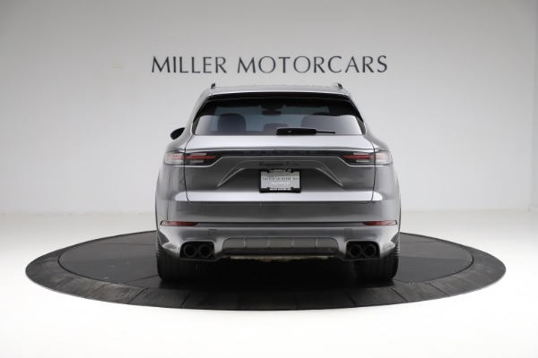 Used 2020 Porsche Cayenne Turbo for sale Sold at Maserati of Westport in Westport CT 06880 6