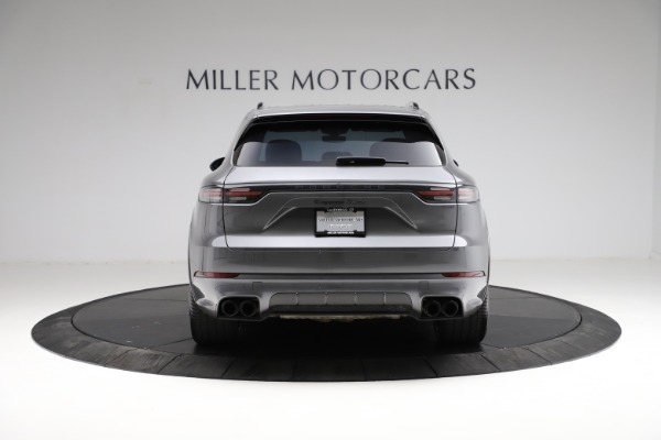 Used 2020 Porsche Cayenne Turbo for sale Sold at Maserati of Westport in Westport CT 06880 7