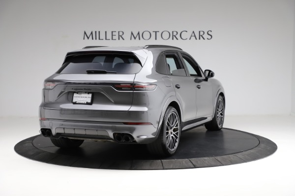 Used 2020 Porsche Cayenne Turbo for sale Sold at Maserati of Westport in Westport CT 06880 8