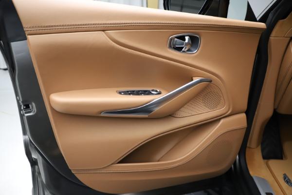 New 2021 Aston Martin DBX for sale $211,486 at Maserati of Westport in Westport CT 06880 16