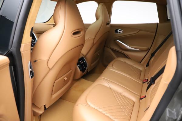 New 2021 Aston Martin DBX for sale $211,486 at Maserati of Westport in Westport CT 06880 19