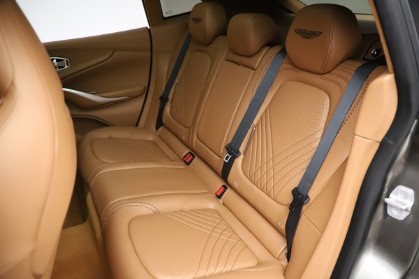 New 2021 Aston Martin DBX for sale $211,486 at Maserati of Westport in Westport CT 06880 20