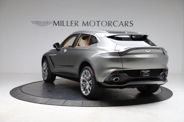 New 2021 Aston Martin DBX for sale $211,486 at Maserati of Westport in Westport CT 06880 4