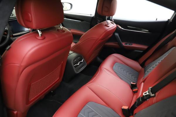 Used 2018 Maserati Ghibli SQ4 GranLusso for sale $55,900 at Maserati of Westport in Westport CT 06880 13