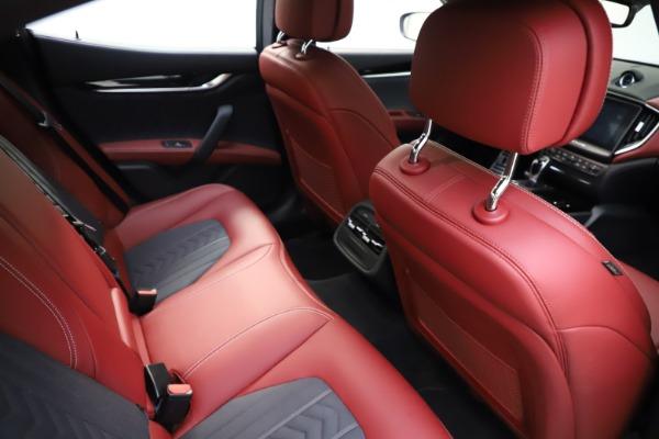Used 2018 Maserati Ghibli SQ4 GranLusso for sale $55,900 at Maserati of Westport in Westport CT 06880 19