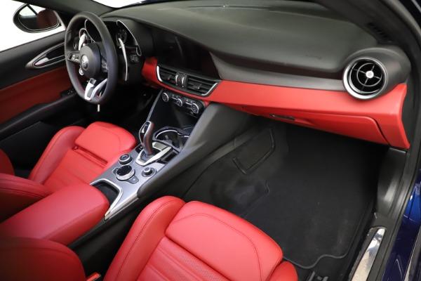 New 2021 Alfa Romeo Giulia Ti Sport for sale $54,050 at Maserati of Westport in Westport CT 06880 19