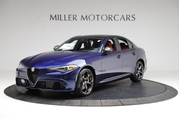 New 2021 Alfa Romeo Giulia Ti Sport for sale $54,050 at Maserati of Westport in Westport CT 06880 2
