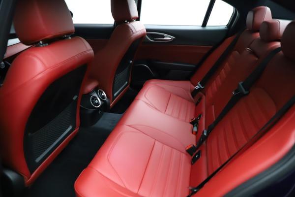 New 2021 Alfa Romeo Giulia Ti Sport for sale $54,050 at Maserati of Westport in Westport CT 06880 23