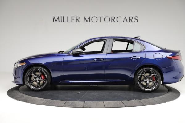 New 2021 Alfa Romeo Giulia Ti Sport for sale $54,050 at Maserati of Westport in Westport CT 06880 3