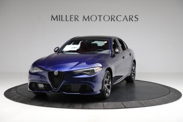 New 2021 Alfa Romeo Giulia Ti Sport for sale $54,050 at Maserati of Westport in Westport CT 06880 1