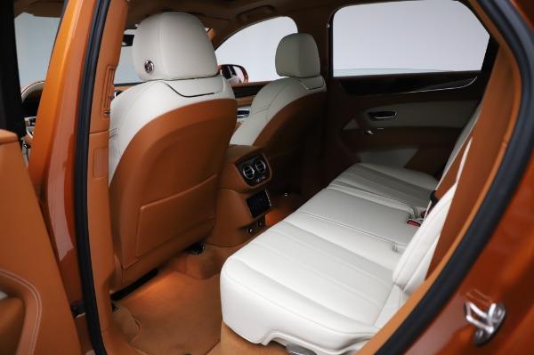 Used 2018 Bentley Bentayga Onyx Edition for sale $149,900 at Maserati of Westport in Westport CT 06880 21