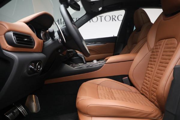 New 2021 Maserati Levante S Q4 GranSport for sale $107,699 at Maserati of Westport in Westport CT 06880 16