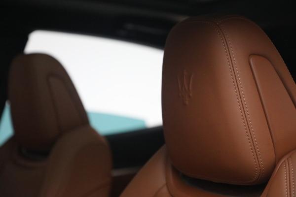 New 2021 Maserati Levante S Q4 GranSport for sale $107,699 at Maserati of Westport in Westport CT 06880 18