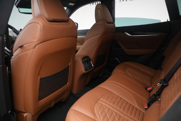New 2021 Maserati Levante S Q4 GranSport for sale $107,699 at Maserati of Westport in Westport CT 06880 25