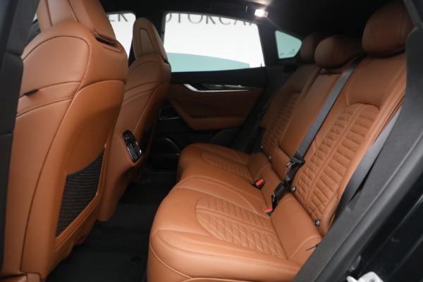 New 2021 Maserati Levante S Q4 GranSport for sale $107,699 at Maserati of Westport in Westport CT 06880 26