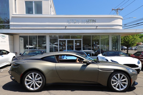 Used 2018 Aston Martin DB11 V8 for sale $151,900 at Maserati of Westport in Westport CT 06880 22