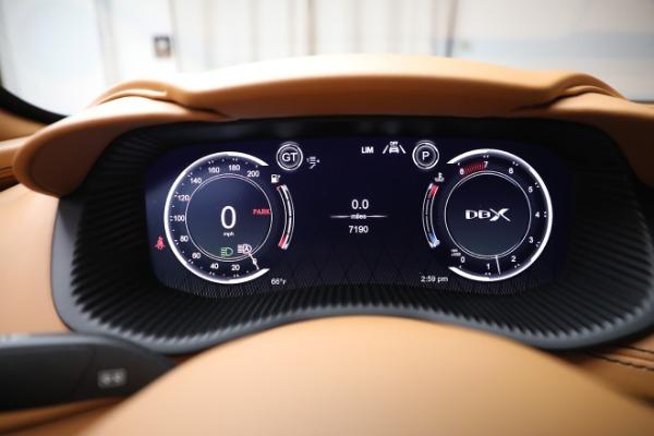 New 2021 Aston Martin DBX for sale $207,886 at Maserati of Westport in Westport CT 06880 18