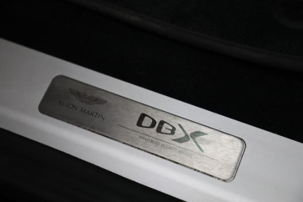 New 2021 Aston Martin DBX for sale $207,886 at Maserati of Westport in Westport CT 06880 22