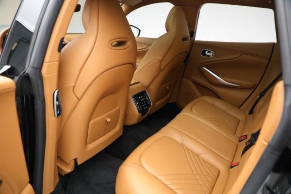 New 2021 Aston Martin DBX for sale $207,886 at Maserati of Westport in Westport CT 06880 25