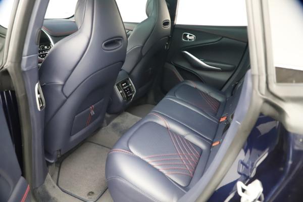 New 2021 Aston Martin DBX for sale $213,086 at Maserati of Westport in Westport CT 06880 19