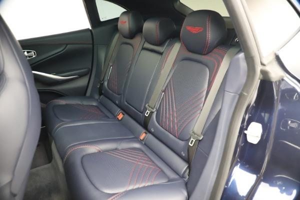 New 2021 Aston Martin DBX for sale $213,086 at Maserati of Westport in Westport CT 06880 20
