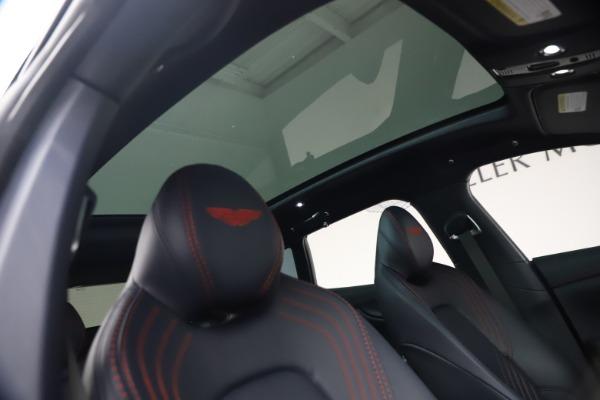 New 2021 Aston Martin DBX for sale $213,086 at Maserati of Westport in Westport CT 06880 24