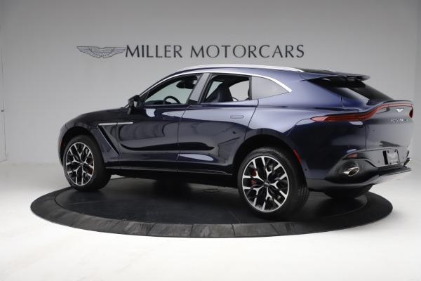 New 2021 Aston Martin DBX for sale $213,086 at Maserati of Westport in Westport CT 06880 3
