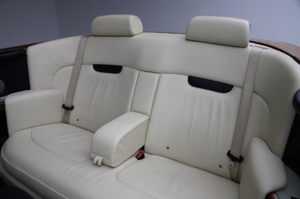 Used 2009 Rolls-Royce Phantom Drophead Coupe for sale $219,900 at Maserati of Westport in Westport CT 06880 23
