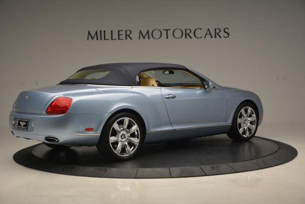 Used 2007 Bentley Continental GTC for sale Sold at Maserati of Westport in Westport CT 06880 20
