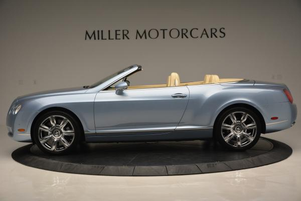 Used 2007 Bentley Continental GTC for sale Sold at Maserati of Westport in Westport CT 06880 3