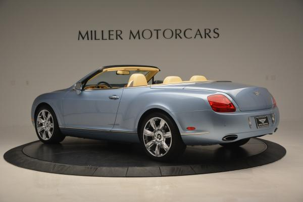 Used 2007 Bentley Continental GTC for sale Sold at Maserati of Westport in Westport CT 06880 4