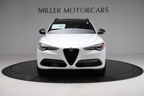 New 2021 Alfa Romeo Stelvio Ti Sport Q4 for sale $56,240 at Maserati of Westport in Westport CT 06880 12